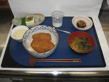 0821 ソースカツ丼ランチ