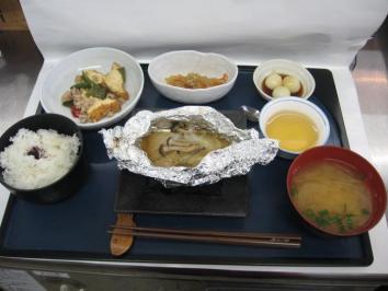 魚のホイル焼きランチ