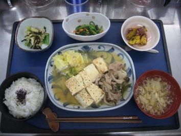 1103 肉豆腐ランチ