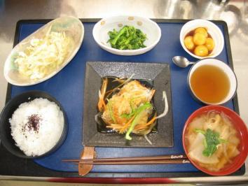 0117 魚の野菜たっぷりあんかけ定食