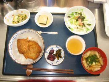 0127 ソースカツ丼定食