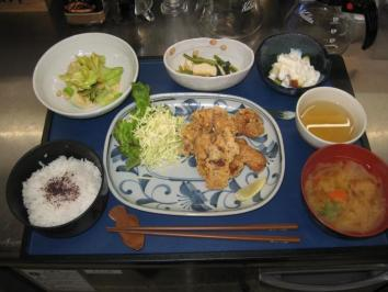 0210 鶏の唐揚げ定食