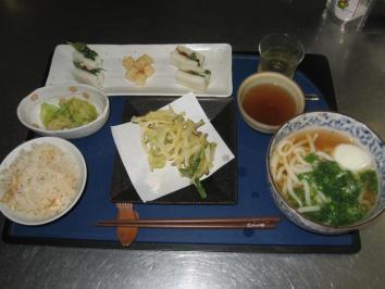 0511 うどん定食