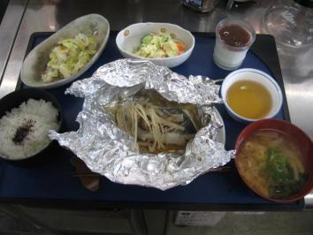 0528 焼魚ランチ