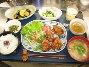 0623 鶏の唐揚げ定食