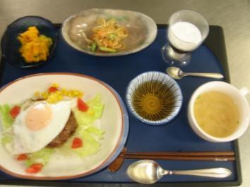 0801 ロコモコ丼ランチ