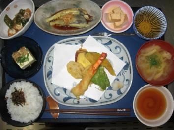0904 天ぷら定食