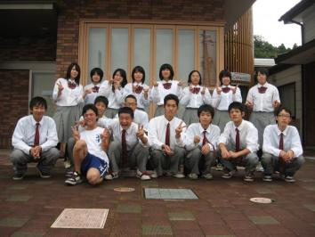 京都府立海洋高校の学生さんたち