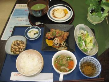 1029 若狭東高校生による『高校生レストラン』ランチ