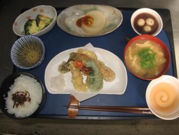 1118 天ぷら定食