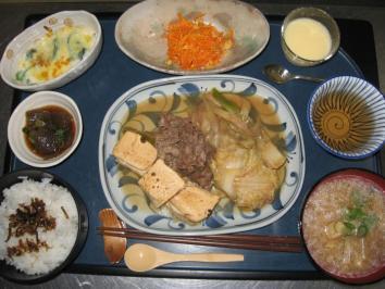 1127 肉豆腐ランチ