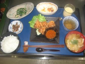 0203 唐揚げ定食