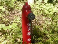 新しい消火栓