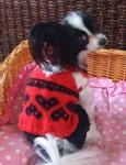 編みハート