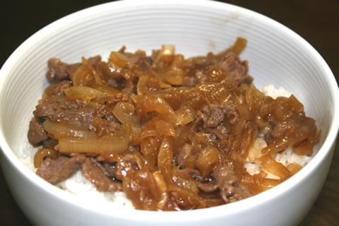 胡椒味牛丼