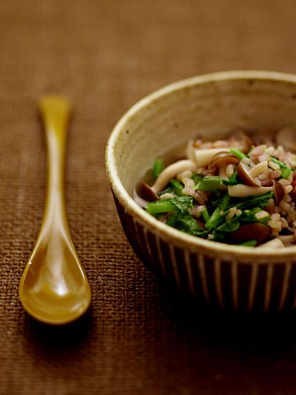 玄米雑炊(トップ)
