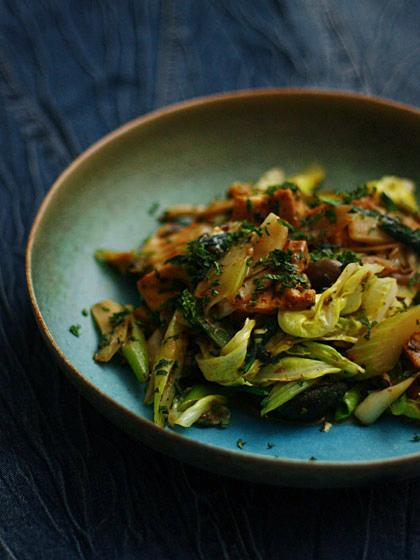 野菜の白味噌炒め2