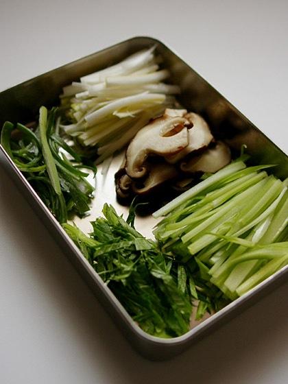 野菜ビーフン:具材
