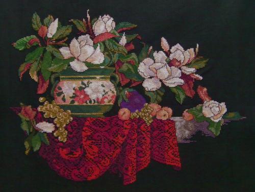 花瓶と花-完成