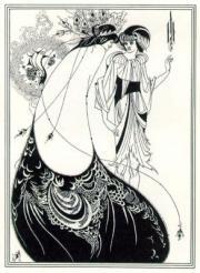 ビアズリー「孔雀の裳裾」