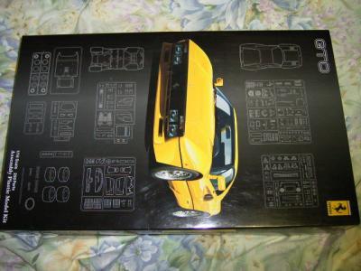 フジミ・1:16フェラーリ・288GTO・箱絵