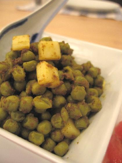 豆とチーズのサラダ