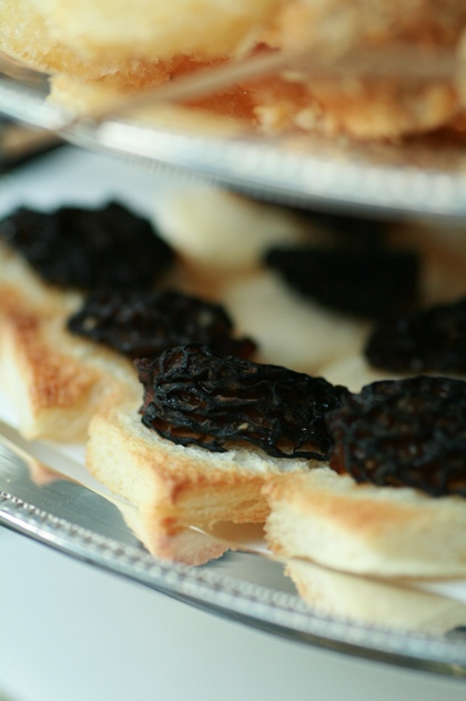 キノコのトースト