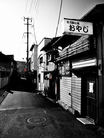 K-Styleの近所の路地裏