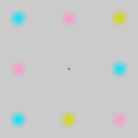 色が消える