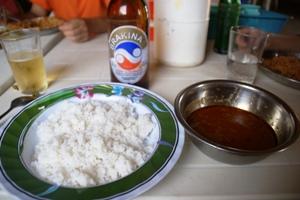ご飯とスープアラシッド