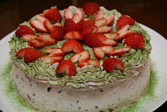 百日ケーキ