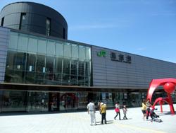 函館駅。ずいぶんきれいになったなぁ…。