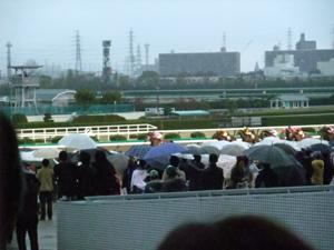 阪神大賞典でーす。遠い…