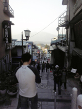 これが石段街。