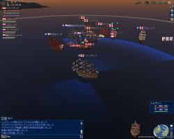 白狼模擬海戦前1