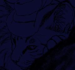 マウス描画ネコ・ダンディー