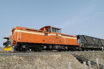 走る石炭列車