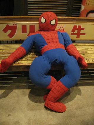 やる気がなさそうに見えるスパイダーマン