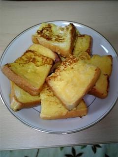 料理 9月15日 フレンチトースト