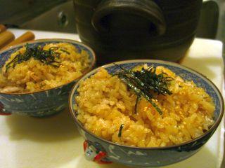 秋刀魚御飯2