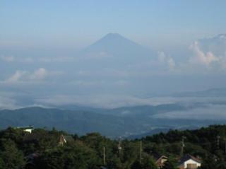 富士山と雲海