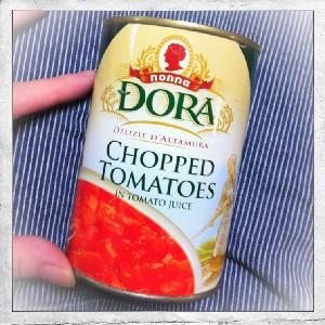 トマト缶、便利。