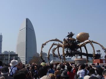 巨大クモその1