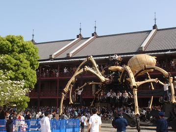 巨大クモその2