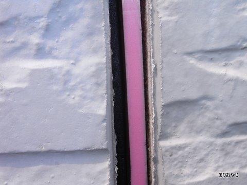 バックアップ材 DIY 外壁塗装 目地 コーキング
