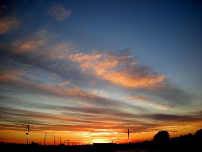 2010 1 27 夕焼け