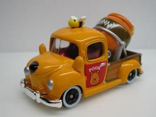 プーさんのミキサー車