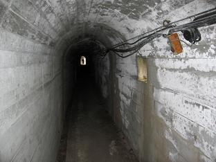 冬季トンネル