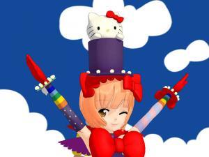 猫村さんマジシャン2
