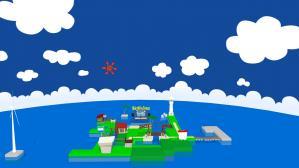 MMDどんぶり島サンプル画像